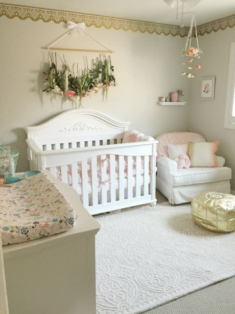 √ 33 Most Adorable Nursery Ideas for Your Baby Girl | Baby room .