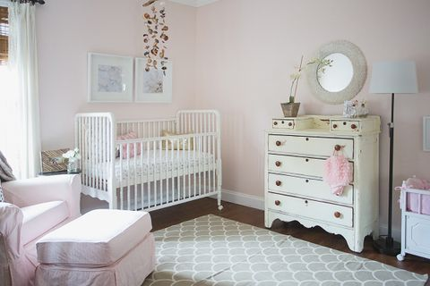 7 Cute Baby Girl Rooms - Nursery Decorating Ideas for Baby Gir