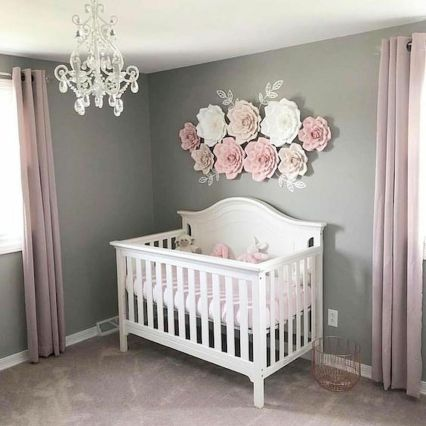 50 Beautiful Baby Nursery Ideas for Girls - babyide
