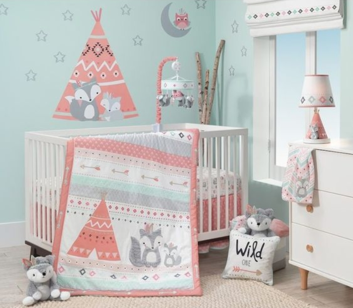 23 Sweet Baby Girl Room Ideas which Will make baby sleeping .