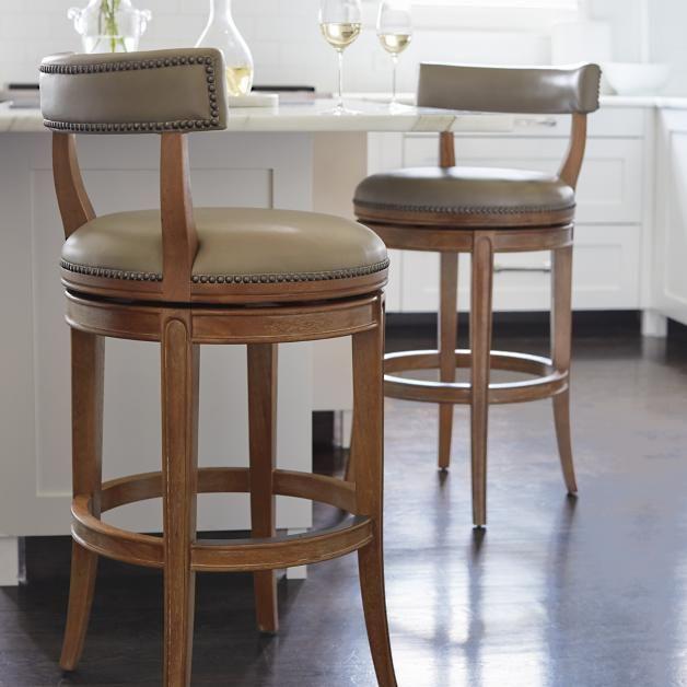 Henning Low Back Bar and Counter Stools | Bar stools, Bar stools .