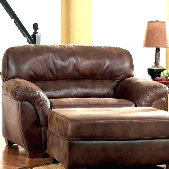 Oversized Chair And Ottoman Set Furniture Leather Sets Pretty .