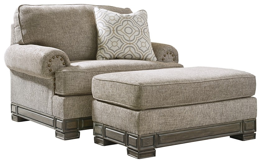 2-Piece Upholstery Package | 32302/14/23 | Chair w/ Ottoman .
