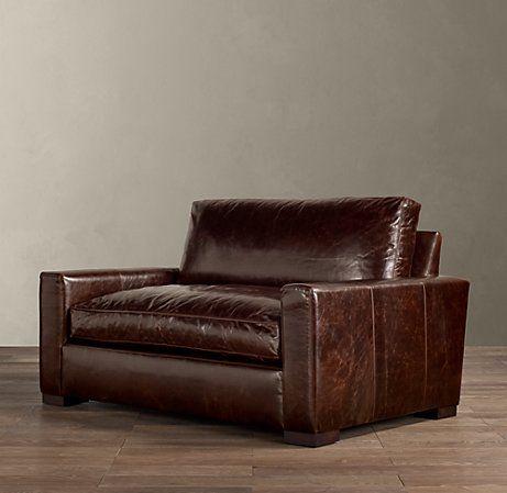 5' Maxwell Leather Sofa | Leather sofa, Best leather sofa .