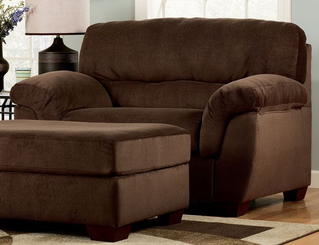 Oversized Chair | Oversized chair and ottoman, Big comfy chair .