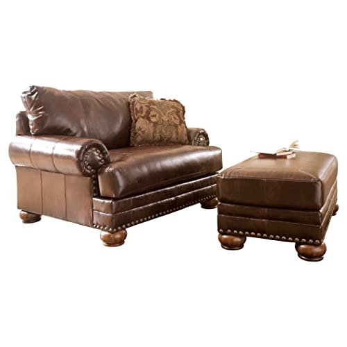 Oversized Chair and Ottoman: Amazon.c