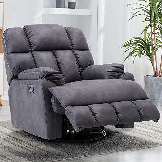 Amazon.com: Swivel Rocker Recliner Chair - Oversized Recliner .