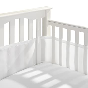 Amazon.com : BreathableBaby Classic Breathable Mesh Crib Liner .