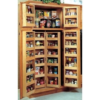 Oak Pantry Storage Cabinet for 2020 - Ideas on Fot