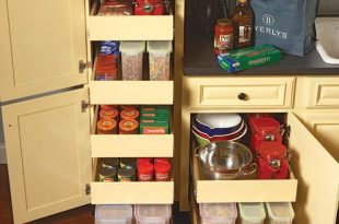 Kitchen Storage: Pull Out Pantry Shelves | Family Handym