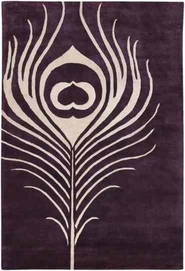 peacock feather | Feather painting, Wool area rugs, Purple r