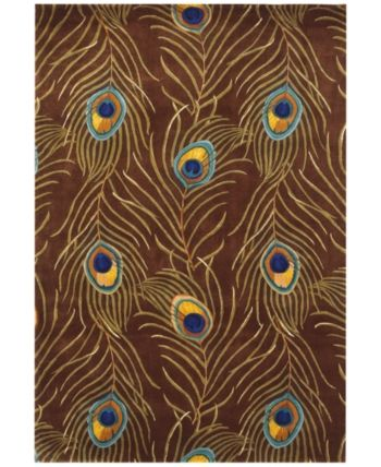Kas Catalina Peacock Feathers 5' x 8' Area Rug & Reviews - Rugs .