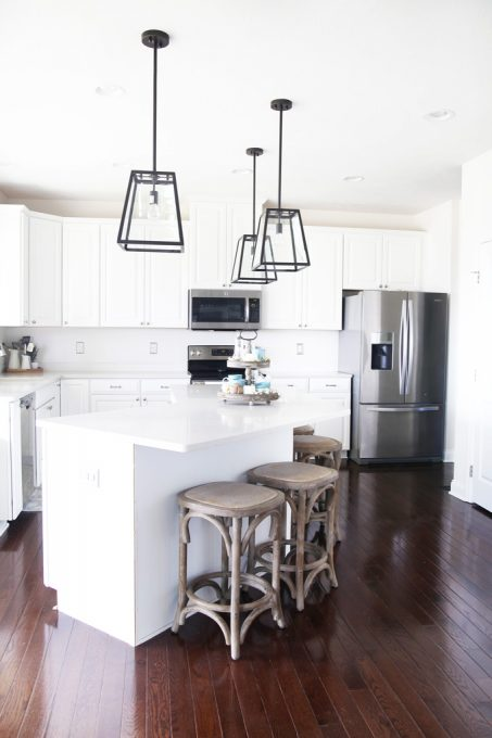 Beautiful and Affordable Kitchen Island Pendant Lights | Abby Laws