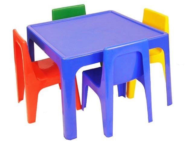 Plastic Kids Table And Chairs