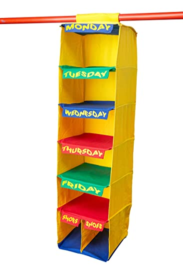 Amazon.com: My Kloset Kids Portable Closet Organizer 5 Weekday .
