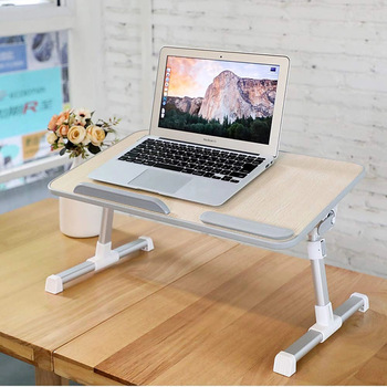 Floor Portable Laptop Desk For Bed Foldable Lap Desk,Height .