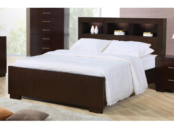 modern 5 PC queen platform bedroom Alexandria VA furniture stor