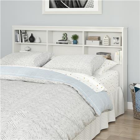 Ameriwood Furniture | Emery Full/Queen Storage Headboard, Whi