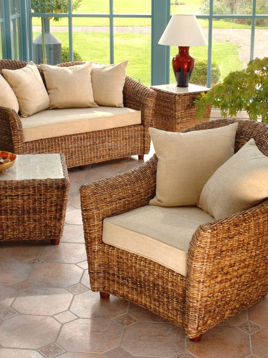 Modern Rattan Conservatory Furniture Ideas Like Rattan Couch And .