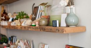 How To Use Reclaimed Wood Floating Shelves To Prettify Your Ho