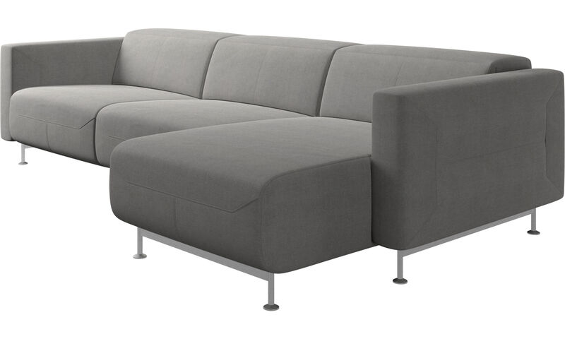Recliner sofas - Parma reclining sofa with chaise lounge - BoConce