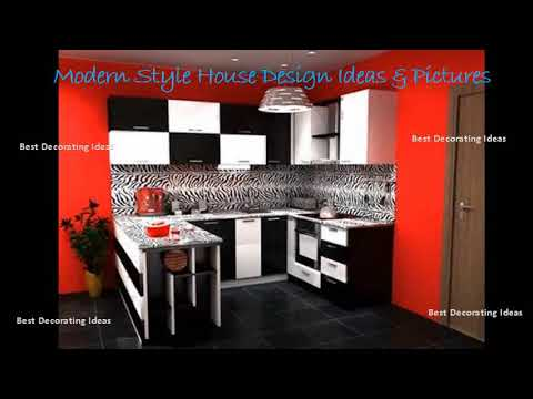 Red and black kitchen designs | Inside Interior Design Picture .
