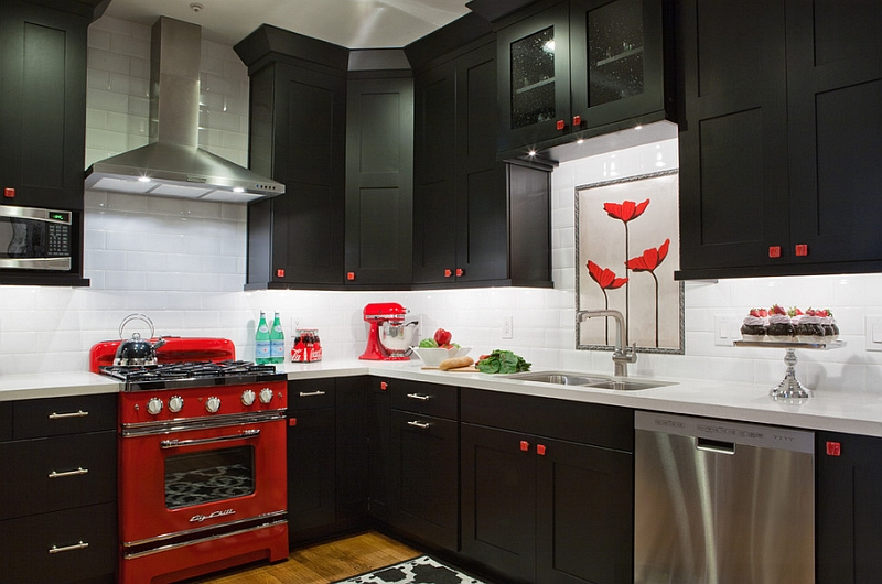 red kitchen wall decor more. bold inspiration red kitchen decor .