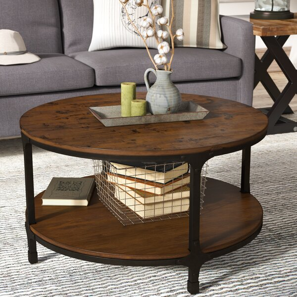 Laurel Foundry Modern Farmhouse Carolyn Coffee Table with Storage .