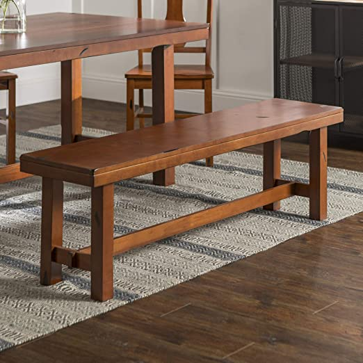 Amazon.com: Walker Edison Furniture Company Rustic Farmhouse Wood .