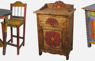 Mexican Painted Furniture - Rustic Country Sty