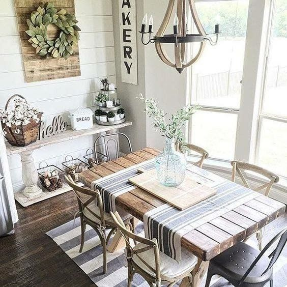 99+ Simple French Country Dining Room Decor Ideas | French country .