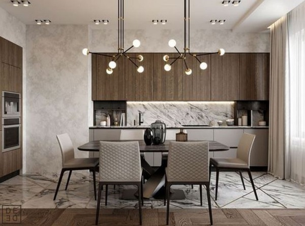Modern Dining Room Ideas: 20+ Simple Designs for Minimalist Lover .