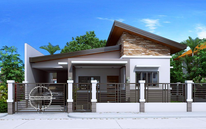 Small house floor plan - Jerica | Modern bungalow house, Bungalow .