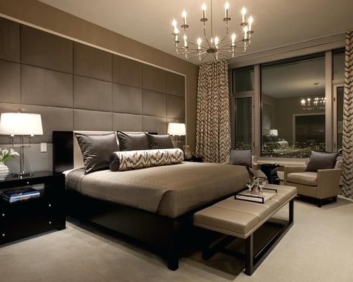 Simple Modern Master Bedroom Decorating Ideas | Luxurious bedrooms .