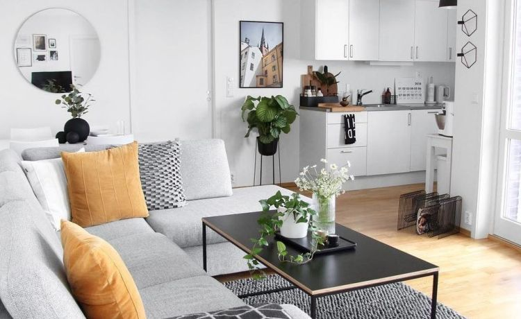 8 Genius Small Apartment Decorating Ideas On A Budget - fancydeco