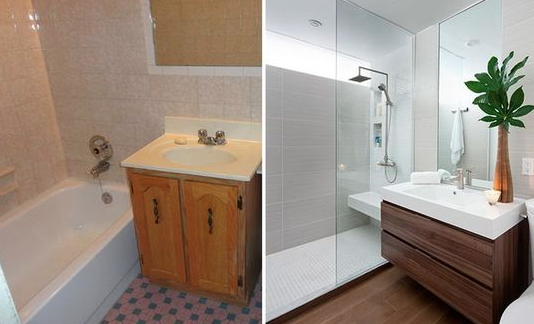 Small Bathrooms Makeovers