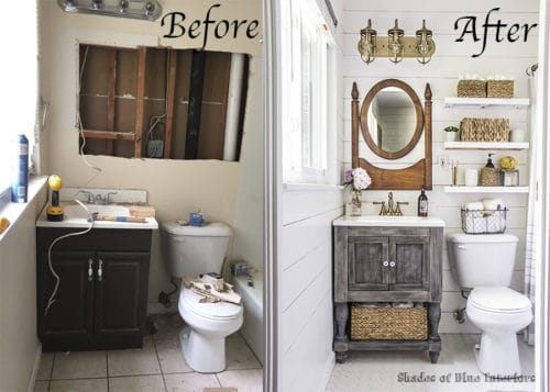 Painted Furniture Ideas | 8 Ways for Bathroom Makeovers - Painted .
