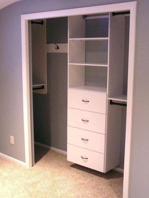 Diy Small Bedroom Closet Organization Ide