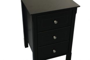 Bedroom Small Black Gloss White Slim Bedside Chest Of Drawers .