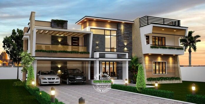 Modern Dream House Design | Contemporary house plans, Dream home .