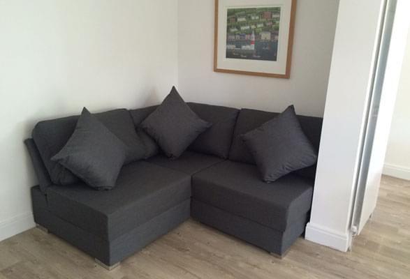 Ula Armless 2X2 Corner Sofa | Corner sectional sofa, Corner sofa .