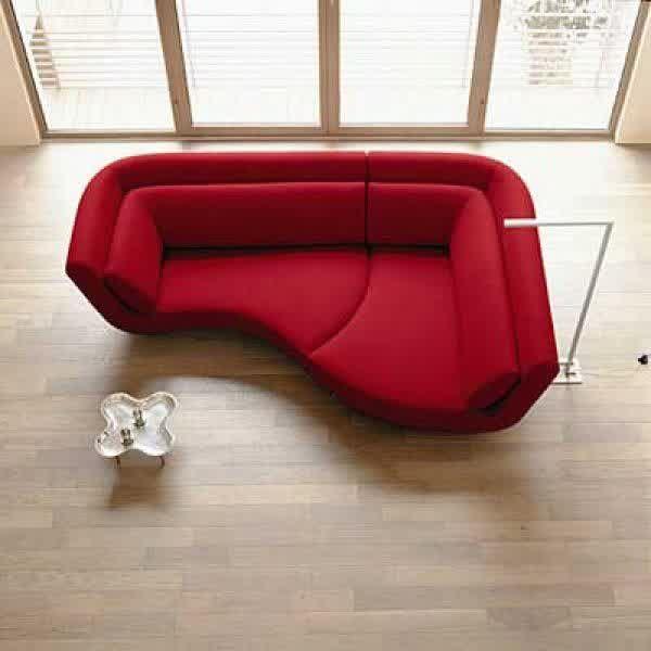 Small Corner Sofas for Small Rooms | Unique sofas, Small corner .