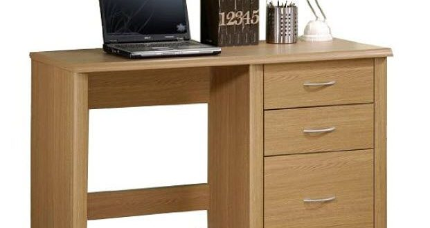 small office desk with drawers | Small office table, Small office .