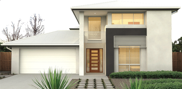 Home Design and House Plane: Simple small modern homes exterior .