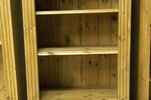 Small Pine Bookcase 9 in 2020 | Pine bookcase, Bookcase, Small .
