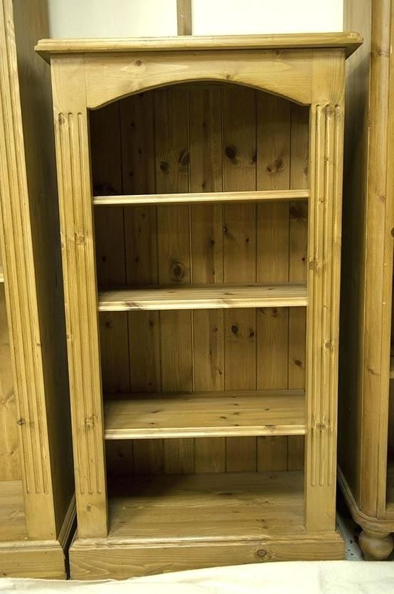 Small Pine Bookcase 9 in 2020 | Pine bookcase, Bookcase, Small .