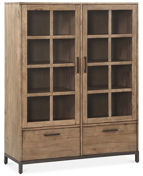 Furniture Home Office Bookcase Created Macy Reviews – Saltandblu