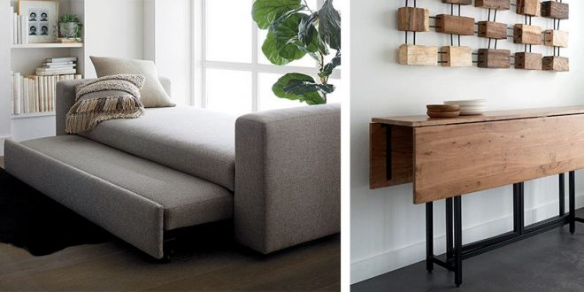 Small Space Furniture Ideas | Crate and Barr