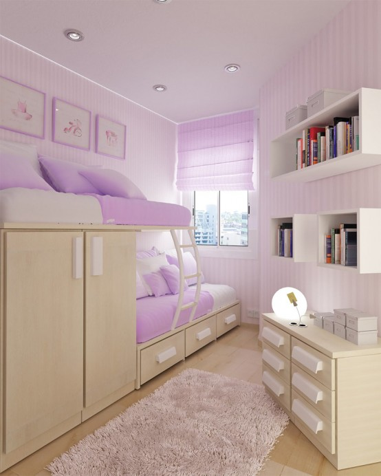 55 Thoughtful Teenage Bedroom Layou