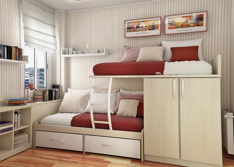 55 Thoughtful Teenage Bedroom Layou